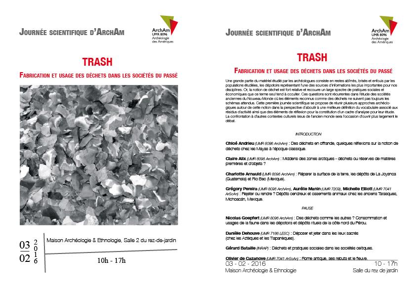 Trash : fabrication et usage des déchets dans les sociétés du passé