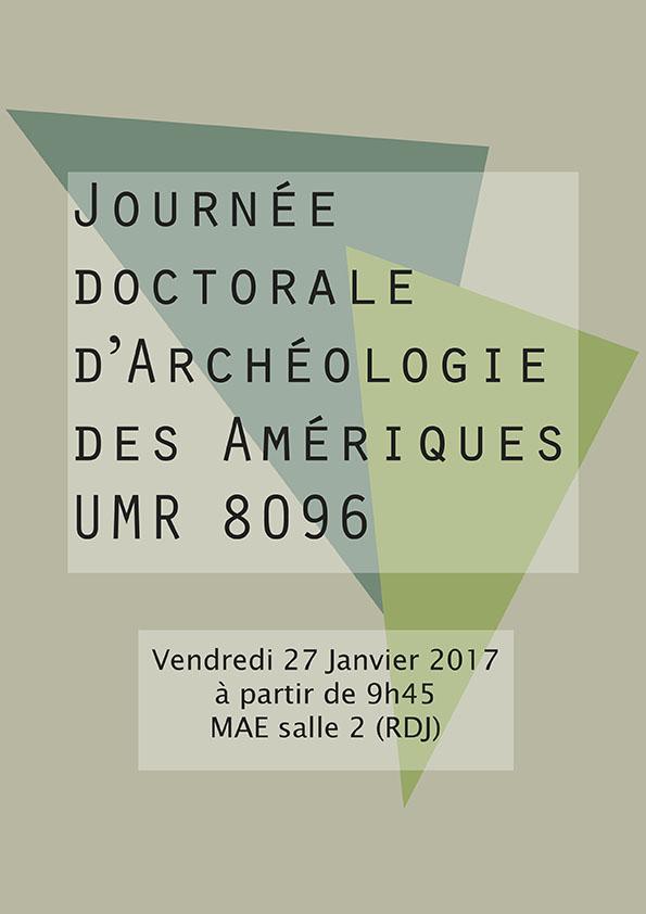 Journée doctorale ArchAm