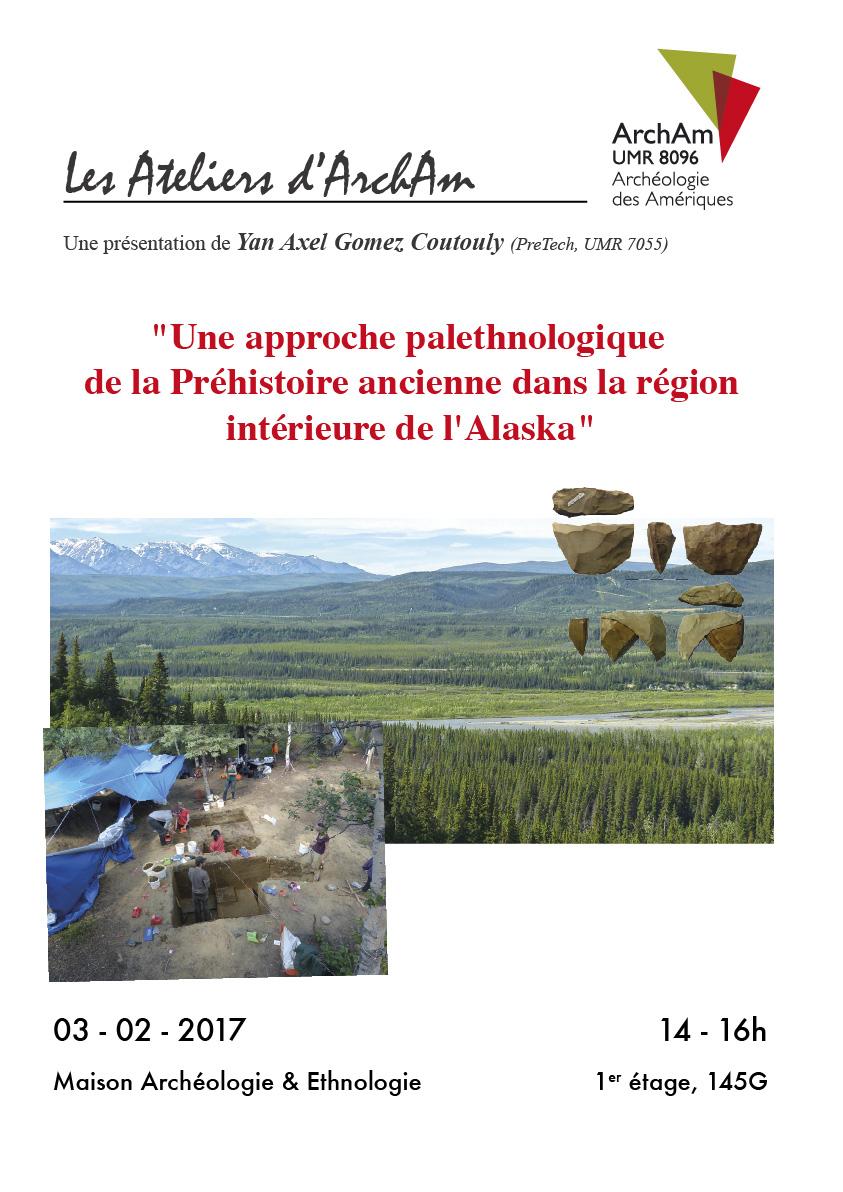 Une approche palethnologique de la Préhistoire ancienne dans la région intérieure de l'Alaska